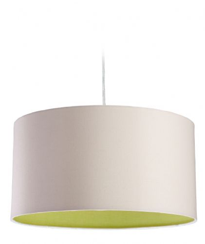 Firstlight 8630CRGN Cream with Green Inside Zeta Pendant